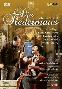 Johann Strauss II (1825-1899): Die Fledermaus, DVD