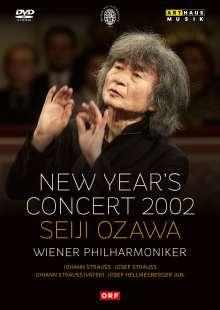 Das Neujahrskonzert Wien 2002, DVD