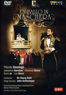 Giuseppe Verdi (1813-1901): Un Ballo in Maschera, DVD