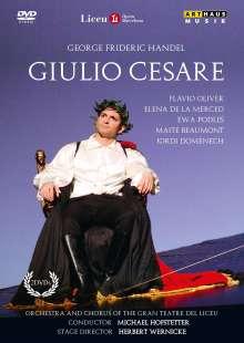 Georg Friedrich Händel (1685-1759): Giulio Cesare in Egitto, 2 DVDs
