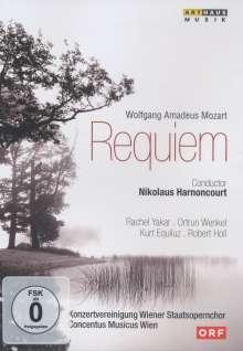 Wolfgang Amadeus Mozart (1756-1791): Requiem KV 626, DVD