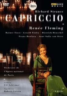 Richard Strauss (1864-1949): Capriccio, 2 DVDs
