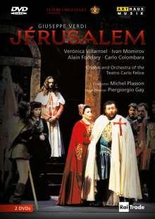 Giuseppe Verdi (1813-1901): Jerusalem, 2 DVDs