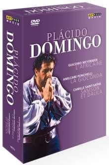 Placido Domingo (3 Operngesamtaufnahmen), 4 DVDs