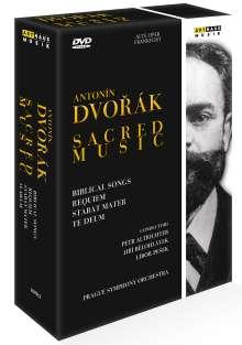 Antonin Dvorak (1841-1904): Geistliche Werke, 3 DVDs