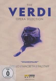 """Giuseppe Verdi (1813-1901): The Verdi Opera Selection """"Shakespeare"""", 3 DVDs"""
