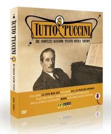 Giacomo Puccini (1858-1924): Tutto Puccini - The Complete Giacomo Puccini Opera Edition, 11 DVDs