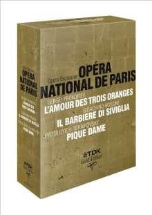 Opera Exclusive - Opera National De Paris, 4 DVDs