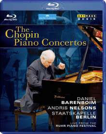 Frederic Chopin (1810-1849): Klavierkonzerte Nr.1 & 2, Blu-ray Disc