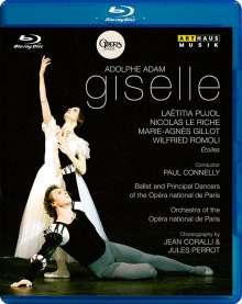 Ballet de l'Opera National de Paris:Giselle (Adam), Blu-ray Disc