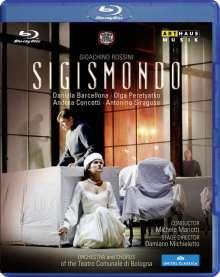 Gioacchino Rossini (1792-1868): Sigismondo, Blu-ray Disc
