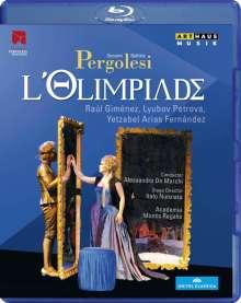 Giovanni Battista Pergolesi (1710-1736): L'Olimpiade, Blu-ray Disc