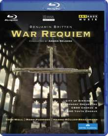 Benjamin Britten (1913-1976): War Requiem op.66, Blu-ray Disc
