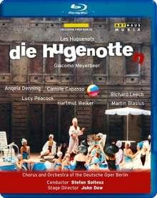 Giacomo Meyerbeer (1791-1864): Die Hugenotten (in deutscher Sprache), Blu-ray Disc