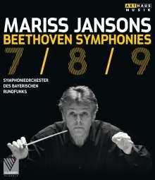 Ludwig van Beethoven (1770-1827): Symphonien Nr.7-9, Blu-ray Disc