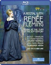 A Recital with Renee Fleming - Vienna at the Turn of the 20th Century, Blu-ray Disc