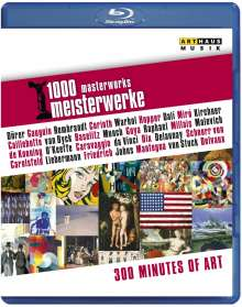 1000 Meisterwerke - 300 Minutes of Art, Blu-ray Disc