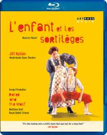 Nederlands Dans Theater: L'enfant et les sortileges, Blu-ray Disc