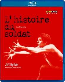 Nederlands Dans Theater:Histoire du Soldat, Blu-ray Disc