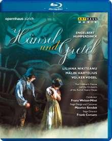 Engelbert Humperdinck (1854-1921): Hänsel & Gretel, Blu-ray Disc