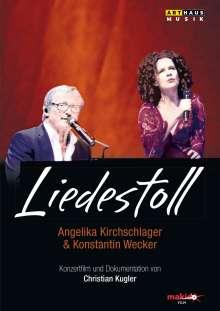 Angelika Kirchschlager & Konstantin Wecker - Liedestoll, DVD