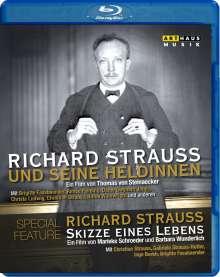Richard Strauss (1864-1949): Richard Strauss und seine Heldinnen / Richard Strauss - Skizze eines Lebens, Blu-ray Disc