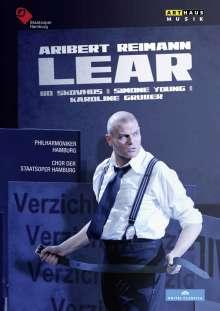 Aribert Reimann (geb. 1936): Lear, DVD