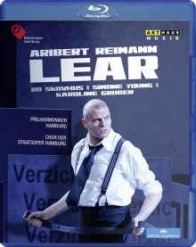 Aribert Reimann (geb. 1936): Lear, Blu-ray Disc