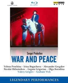 Serge Prokofieff (1891-1953): Krieg und Frieden op.91, Blu-ray Disc