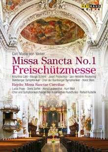 """Carl Maria von Weber (1786-1826): Messe Nr.1 Es-dur """"Freischützmesse"""", DVD"""