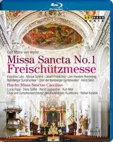 """Carl Maria von Weber (1786-1826): Messe Nr.1 Es-dur """"Freischützmesse"""", Blu-ray Disc"""