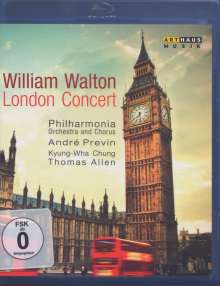 William Walton (1902-1983): William Walton - London Concert, Blu-ray Disc