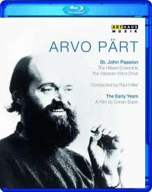 Arvo Pärt (geb. 1935): Passio Domini Nostri (Johannes-Passion), Blu-ray Disc