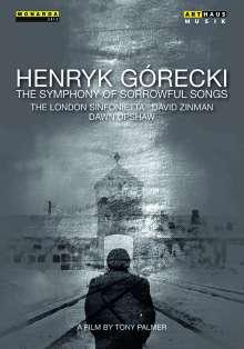 """Henryk Mikolaj Gorecki (1933-2010): Symphonie Nr.3 """"Symphonie der Klagelieder"""" (Dokumentation & Aufführung), DVD"""