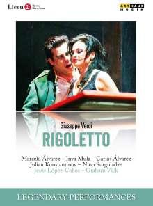 Giuseppe Verdi (1813-1901): Rigoletto, DVD