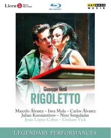 Giuseppe Verdi (1813-1901): Rigoletto, Blu-ray Disc