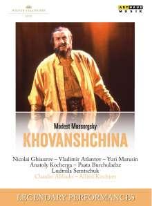 Modest Mussorgsky (1839-1881): Chowanschtschina, 2 DVDs