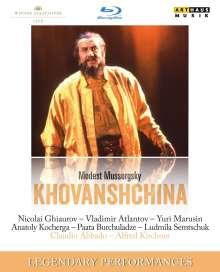 Modest Mussorgsky (1839-1881): Chowanschtschina, Blu-ray Disc