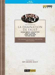 Hector Berlioz (1803-1869): La Damnation de Faust, Blu-ray Disc
