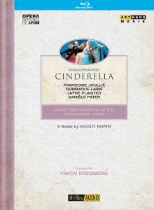 Lyon Opera Ballet:Cinderella (Prokofieff), Blu-ray Disc