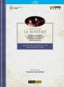 Giacomo Puccini (1858-1924): La Boheme, Blu-ray Disc