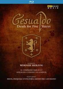 Carlo Gesualdo von Venosa (1566-1613): Gesualdo - Death for Five Voices (Dokumentation), Blu-ray Disc
