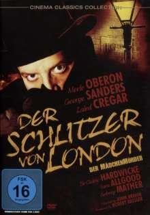 Der Schlitzer von London, DVD