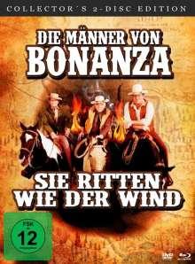 Die Männer von Bonanza - Sie ritten wie der Wind (Blu-ray & DVD), 2 Blu-ray Discs