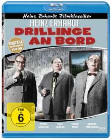 Drillinge an Bord (Blu-ray), Blu-ray Disc