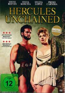 Hercules Unchained, DVD