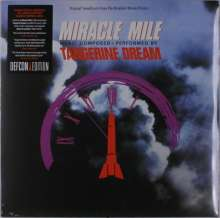Tangerine Dream: Filmmusik: Miracle Mile (DT: Nacht der Entscheidung) (Reissue) (remastered) (Limited-Edition) (Orange Marbled Vinyl), LP