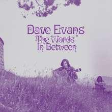 Dave Evans (UK Singer/Songwriter): The Words In Between (Reissue), LP