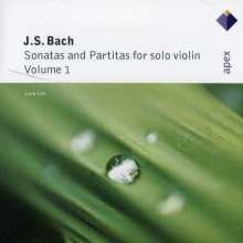 Johann Sebastian Bach (1685-1750): Sonaten & Partiten für Violine Vol.1, CD