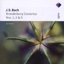 Johann Sebastian Bach (1685-1750): Brandenburgische Konzerte Nr.1,2,5, CD